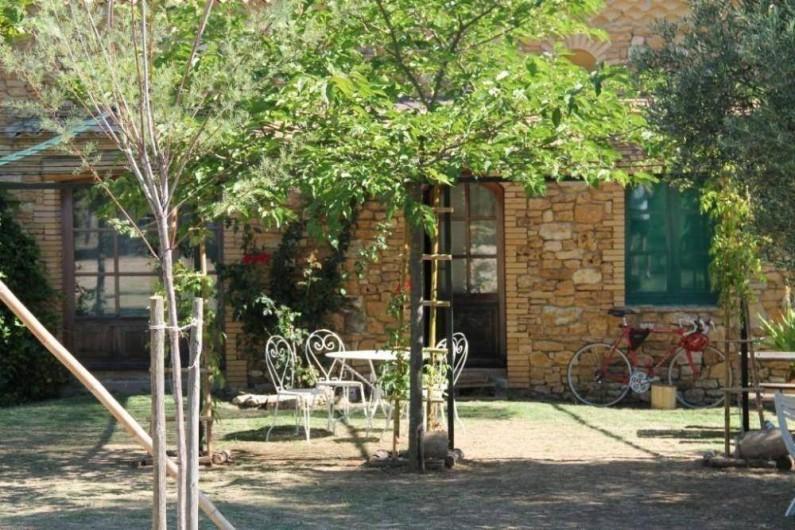 Location de vacances - Maison - Villa à Saint-André-d'Olérargues - Façade