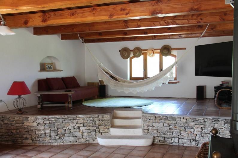 Location de vacances - Maison - Villa à Saint-André-d'Olérargues - Salon haut
