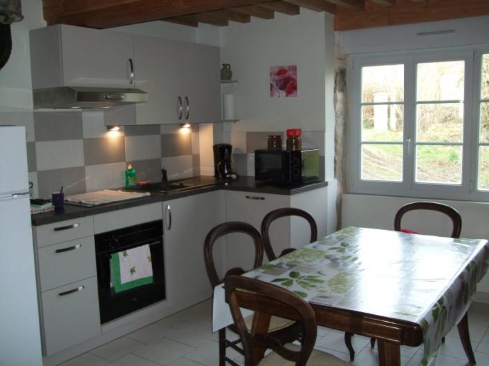 Location de vacances - Gîte à Châgnon - coin cuisine
