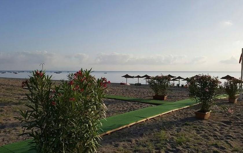 Location de vacances - Bungalow - Mobilhome à Monforte San Giorgio - Notre plage