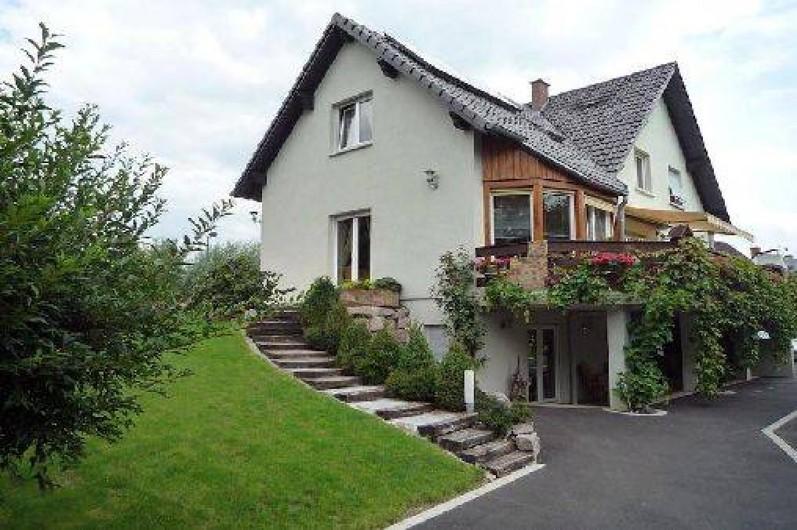 Chambres d 39 h tes les chalinettes fegersheim sur la route des vins 12 km de strasbourg - Chambre d hote route des vins bourgogne ...