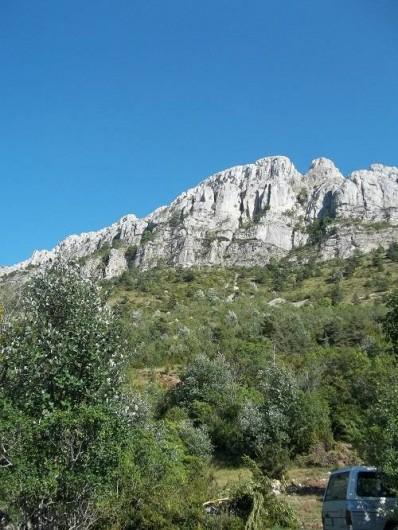 Location de vacances - Bungalow - Mobilhome à Blieux - la montagne dans toute sa splendeur