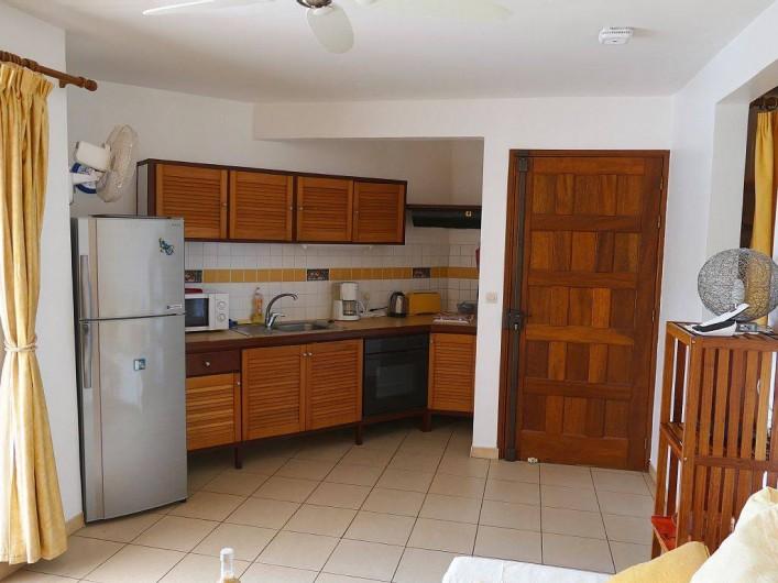 Location de vacances - Appartement à Pointe du Bout - cuisine équipée