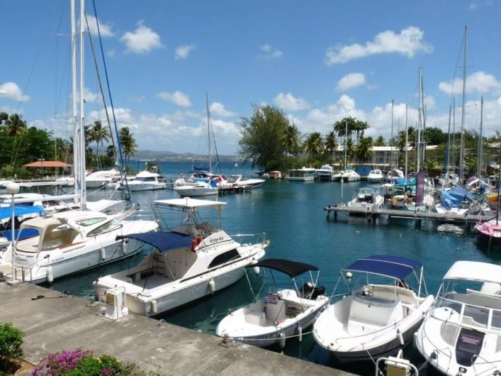 Location de vacances - Appartement à Pointe du Bout - Marina
