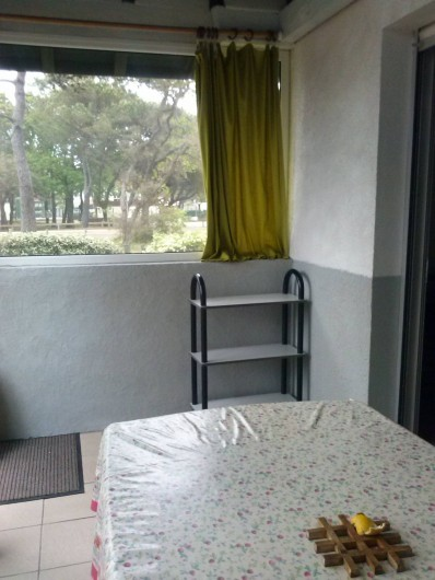 Location de vacances - Villa à Vieux-Boucau-les-Bains - Véranda