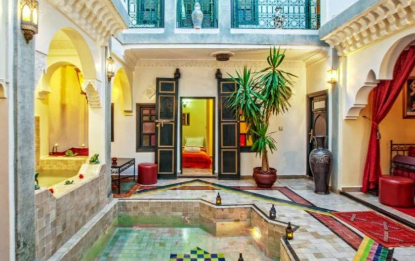 location riad marrakech 15 personnes