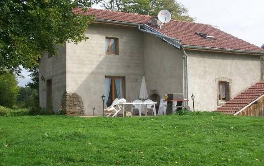 Location de vacances - Gîte à Aillevillers-et-Lyaumont