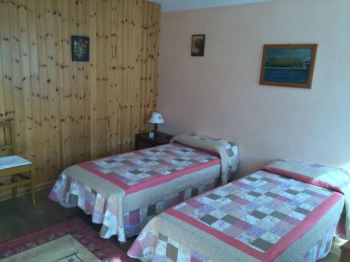 Location de vacances - Appartement à Introd - Chambre 2 . Couchage 2 x 80