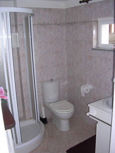 Location de vacances - Appartement à Introd - Salle d eau.  Sèche cheveux  Machine a laver
