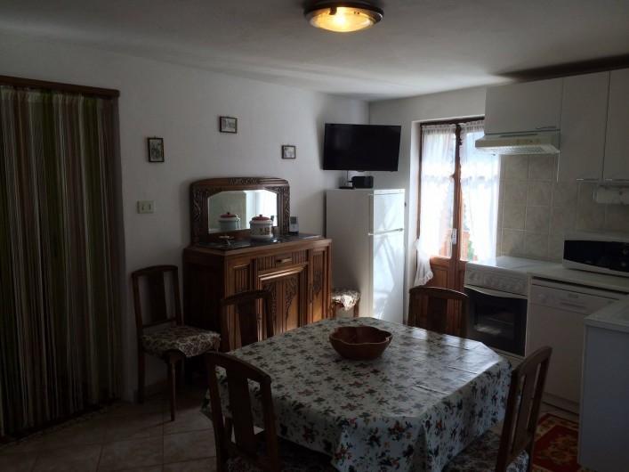 Location de vacances - Appartement à Introd - Frigidaire, tele,