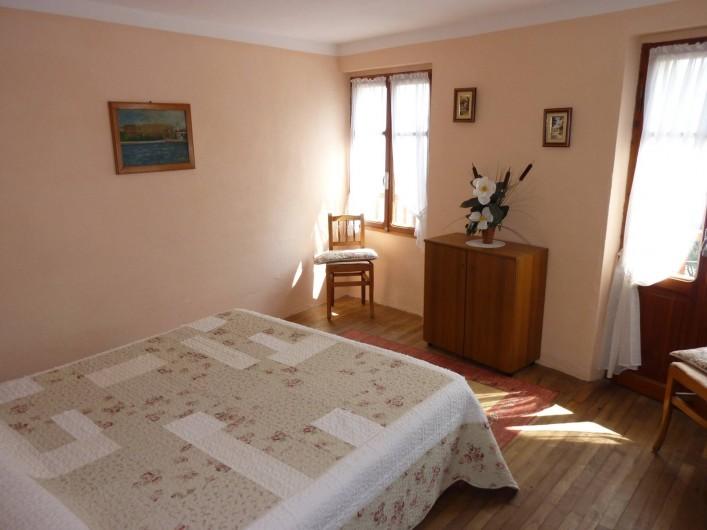 Location de vacances - Appartement à Introd - Chambre 2. Couchage 160 ou