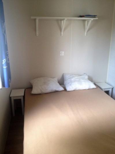 Location de vacances - Bungalow - Mobilhome à Sigean - chambre adulte 1 lit double