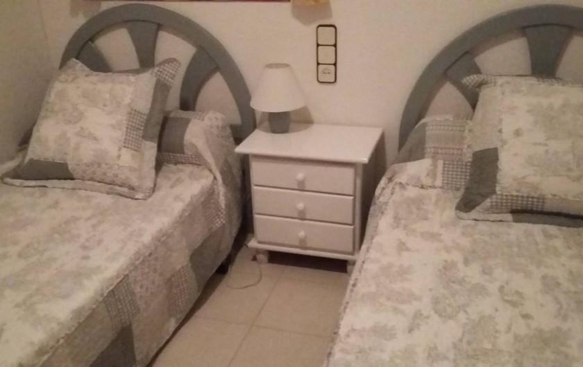 Location de vacances - Appartement à Alcossebre - CHAMBRE NO 2