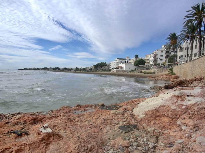 Location de vacances - Appartement à Alcossebre - playa del cargador ,  plage la plus proche ... accessible a pieds  (5 mn )