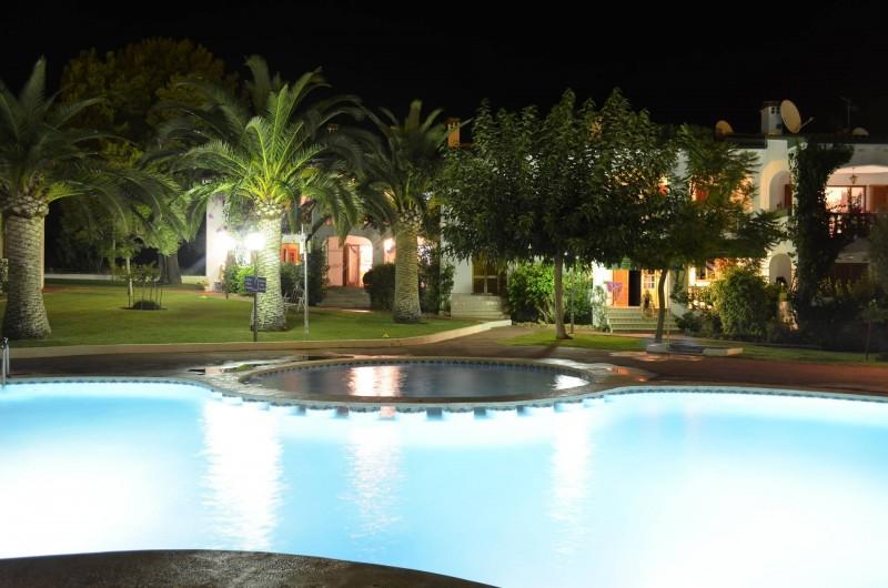 Location de vacances - Appartement à Alcossebre - PISCINE ECLAIREE DE NUIT JUSQU'A  MINUIT