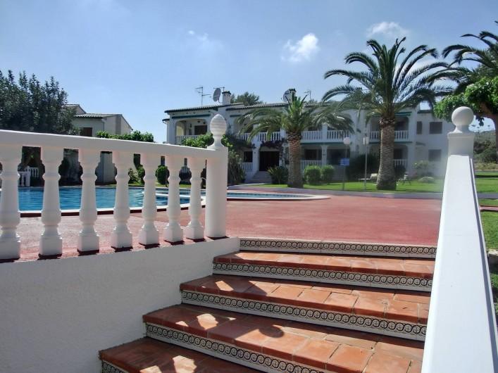 Location de vacances - Appartement à Alcossebre - ACCES PISCINE