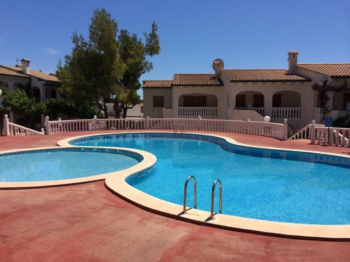 Location de vacances - Appartement à Alcossebre - VUE DE LA TERRASSE