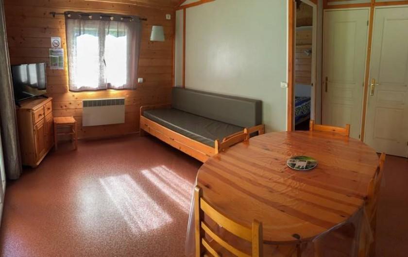 Location de vacances - Camping à Grandrieu - Chalet Edelweiss