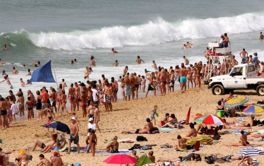 Location de vacances - Centre de vacances à Agon-Coutainville - La Plage et ses vagues...