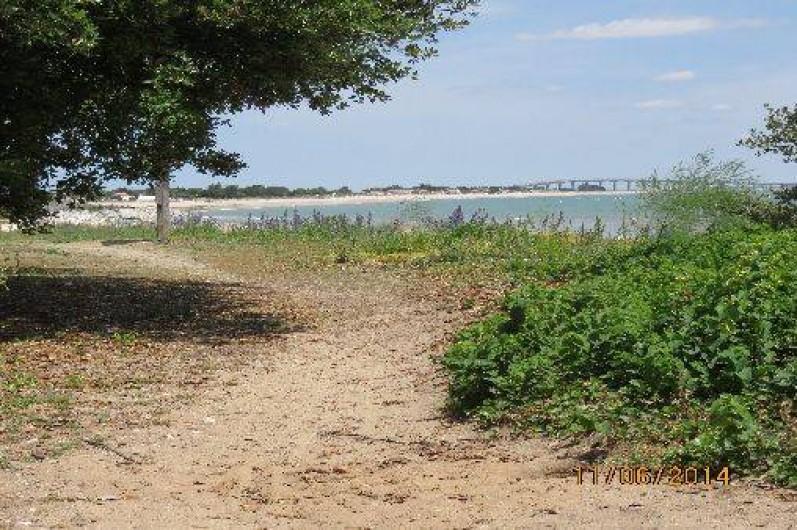 Location de vacances - Villa à Rivedoux-Plage - Le chemin du littoral.