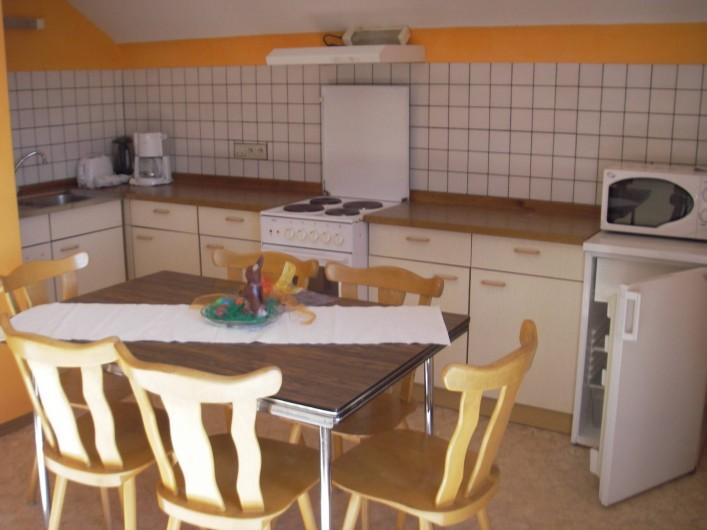 Location de vacances - Maison - Villa à Manderfeld - maison 309 cuisine