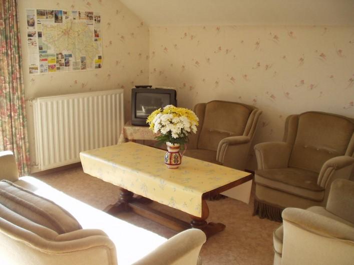 Location de vacances - Maison - Villa à Manderfeld - maison 309 séjour-salon avec balcon