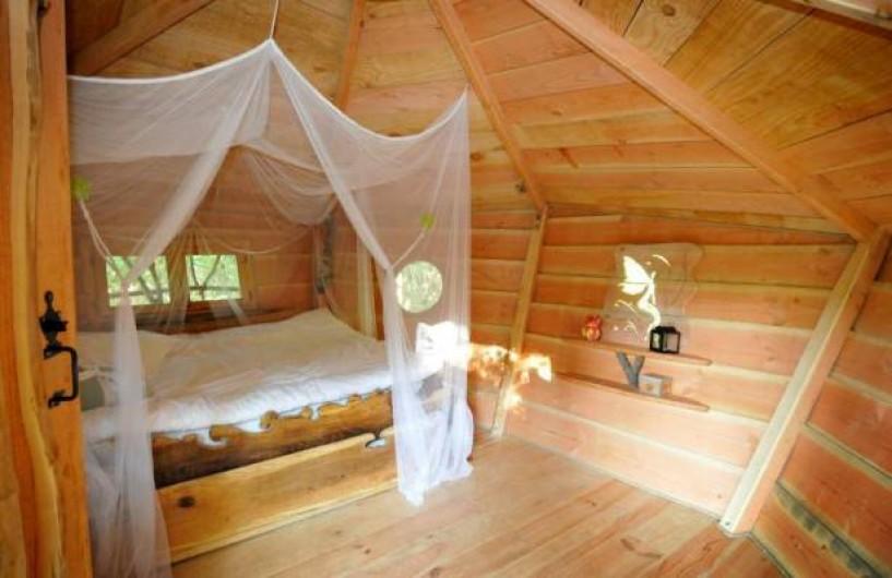 Location de vacances - Cabane dans les arbres à Loubieng