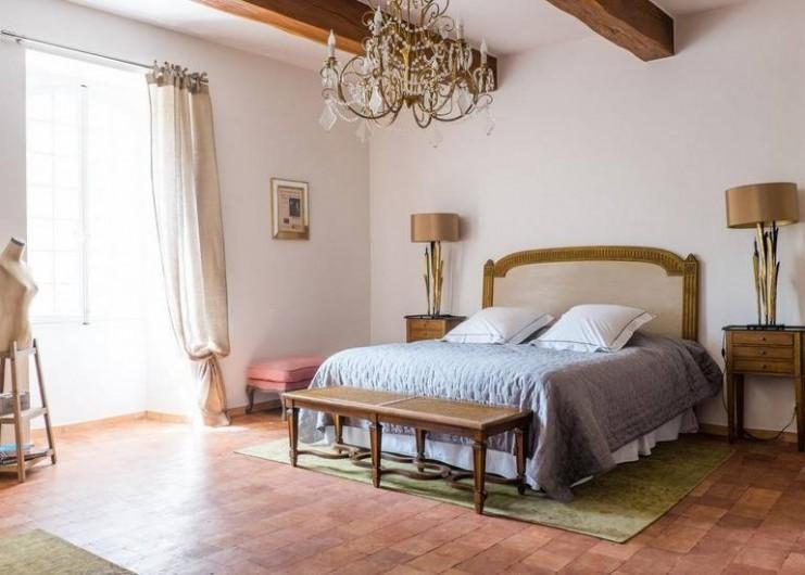 Location de vacances - Chambre d'hôtes à Saint-Félix-de-Pallières - Chambre Arbousier