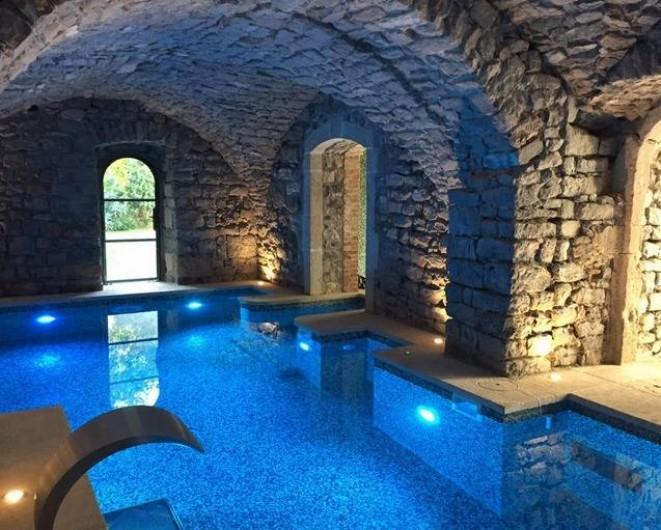 Location de vacances - Chambre d'hôtes à Saint-Félix-de-Pallières - Piscine