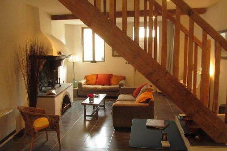 Location de vacances - Gîte à Thuir - Coin salon - Gîte Aspres (4 chambres - 8 couchages)
