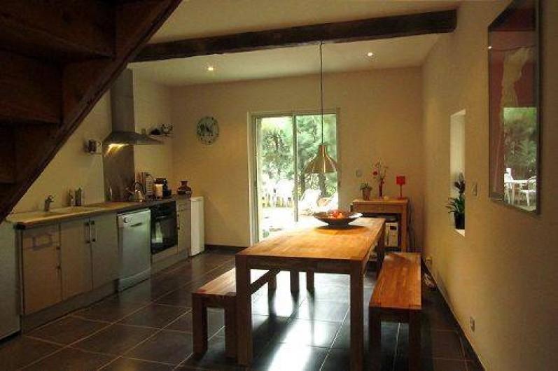 Location de vacances - Gîte à Thuir - Coin repas - Gîte Aspres (4 chambres - 8 couchages)