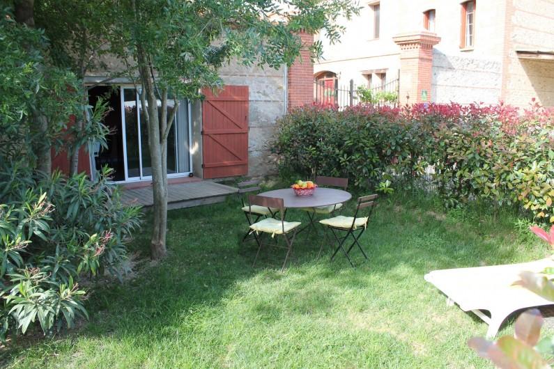 Location de vacances - Gîte à Thuir - Jardin privé - Gîte Capcir