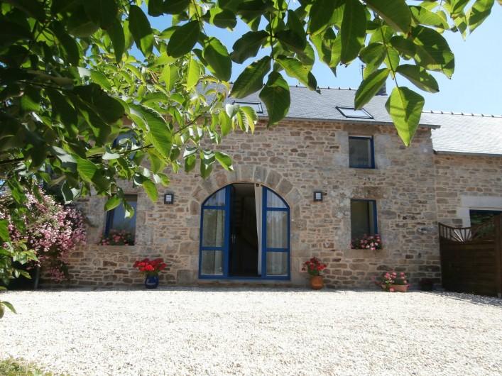Location de vacances - Gîte à Quimperlé - Façade