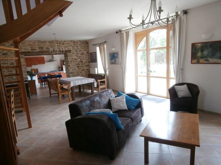 Location de vacances - Gîte à Quimperlé - Salon