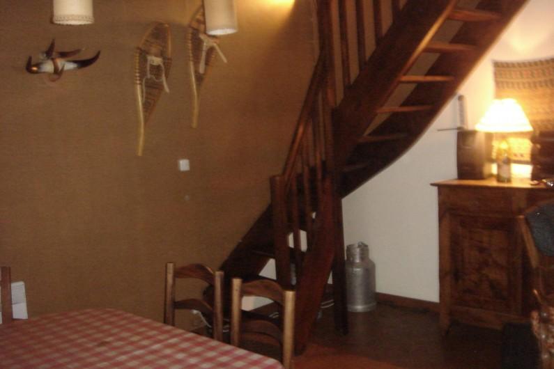 Location de vacances - Chalet à Corrençon-en-Vercors - Accès aux chambres