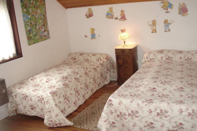 Location de vacances - Chalet à Corrençon-en-Vercors - Chambre enfants