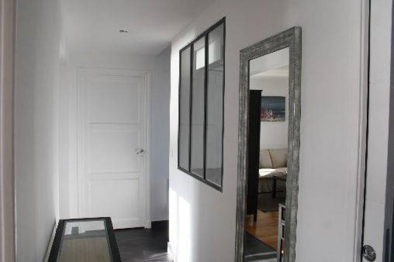 Location de vacances - Appartement à Saint-Malo - Le couloir