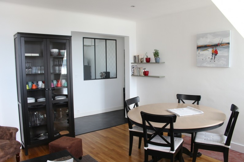 Location de vacances - Appartement à Saint-Malo - Le coin repas