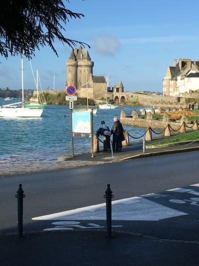 Location de vacances - Appartement à Saint-Malo - Ballade à solidor