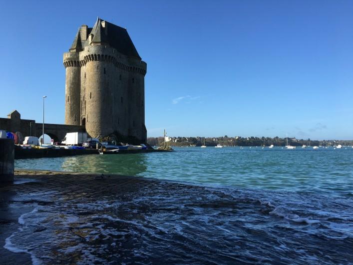 Location de vacances - Appartement à Saint-Malo - Grande marée