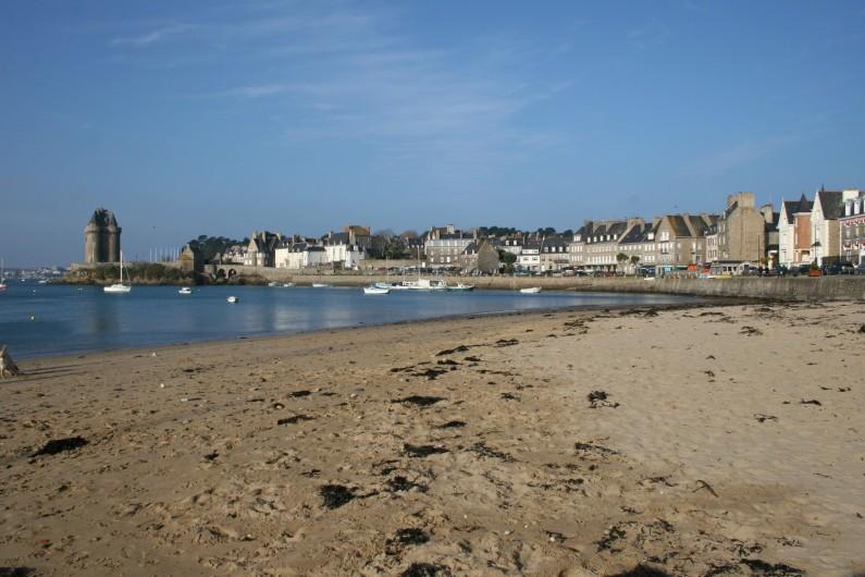 Location de vacances - Appartement à Saint-Malo - La plage de solidor