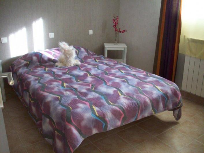 Location de vacances - Villa à Allègre-les-Fumades - Chambre Lit double