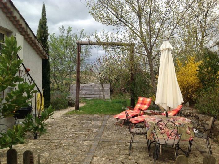 Location de vacances - Appartement à Mirabel - Votre extérieur privative