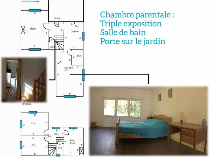 Location de vacances - Maison - Villa à Dieppe - Chambre parentale