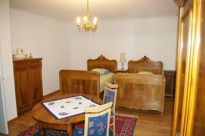 """Location de vacances - Appartement à Thannenkirch - chambre lits séparés                        """"LE SAPIN"""""""