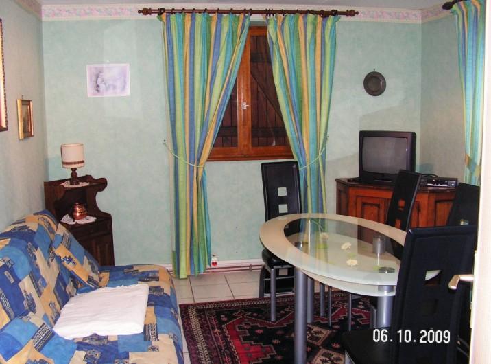 """Location de vacances - Appartement à Thannenkirch - séjour """"LE CERISIER"""""""