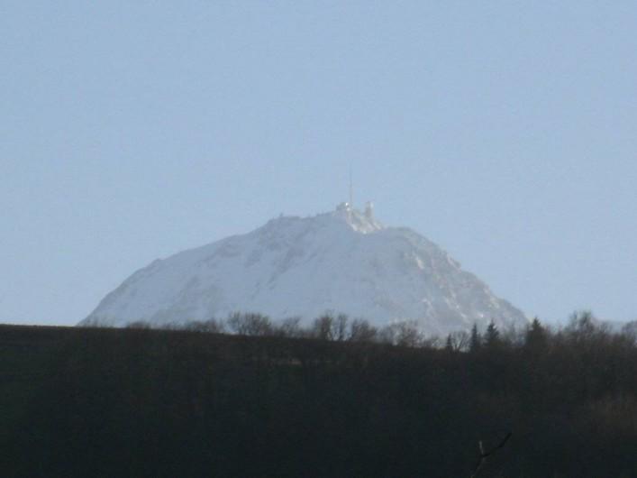 Location de vacances - Chalet à Uzer - Autre vue vers le sud (Pic du midi)