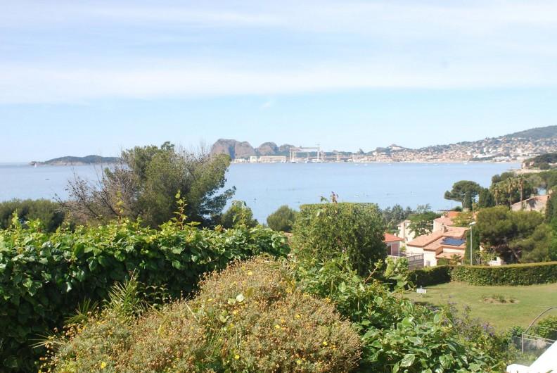Location de vacances - Appartement à La Ciotat - Vue générale de la bais de La Ciotat vue de la résidence