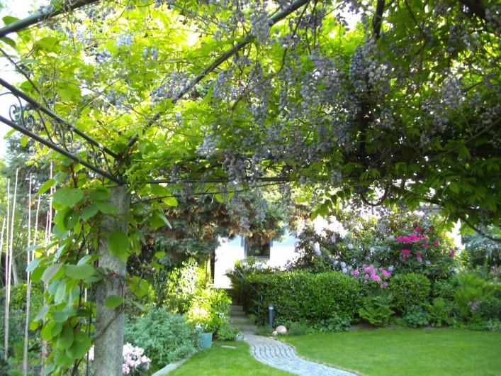 Location de vacances - Maison - Villa à Alsbach-Hähnlein - Jardin de fleurs