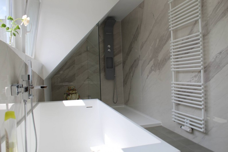 Location de vacances - Maison - Villa à Alsbach-Hähnlein - Salle de bain étage